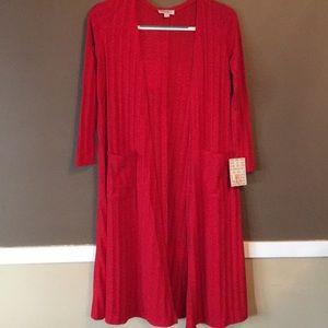 NWT XS True Red Sarah Duster